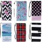 For Samsung Galaxy S7 Phone - Pu Leather Folio Card Slot Stand Wallet Case Cover