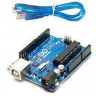Arduino Uno R3 DIP + USB Set or A000066 Microcontroller Only or USB Wire Only