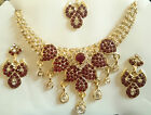 Designer Traditional Bollywood Bridal Party Fashion Jewelry Necklace Earring Set