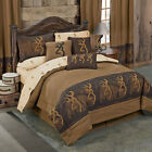 Browning Oak Tree Comforter Set with Sheets and Curtain Set FREE SHIPPING