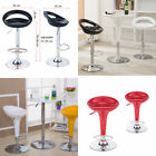 2 Lounge Bar stools set kitchen stool breakfast chair chrome Lift-up Chair