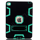 Shockproof Rubber Hard Stand Tablet PC Robot Case Cover For iPad LG Samsung Tab