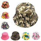 Bucket Sun Hat Kid Baby Boonie Floral Camping Hunting Fishing Outdoor Cap P0164
