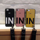 For iPhone 8 Plus X 6S 7 Fashion Soft Case Cover & Detachable Bracelet Strap Hot