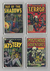 Fridge Magnet Horror comic covers choice of 4 mystery shadows terror gift