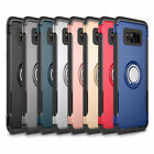 Dual Layer Shockproof Hybrid Tough Hard Case Stand Cover For Samsung S7 S8 Plus