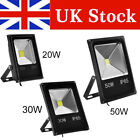 LED Floodlight 20W 30W 50W Warm/Cool White Indoor/Outdoor Security Garden Lamp