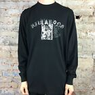 Billabong Calibre Long Sleeve T-Shirt in Black Size L