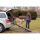 Pet Ramp Tri-Fold Dog Stairs Portable Folding Ladder Car Step Supports 200 Lbs