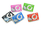 Mini Clip MP3 Player Cute Hello Kitty Music Player With Micro SD Card Slot