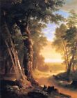 The Beeches by Asher Durand, 1845 (Classic American Landscape Art Print)