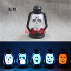 Halloween Pops Colorful LED Lantern Decore Flash Skull Grimace Night Light Party