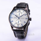 43mm Parnis Seagull Power Reserve Automatic Men's Casual Watch Small Second New