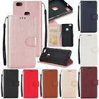 For Huawei P8 P9 P10 Lite  2017 Luxury Flip Leather Magnetic Wallet Cover Case