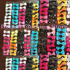 96pcs Baby Girl Boutique Hair Bows Alligator Clip Grosgrain Ribbon Headband lots