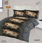 LEOPARD ANIMAL PRINT 3D Duvet Cover Bedding Set with Fitted sheet & Pillow case