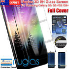 NUGLAS Full Cover Tempered 3D Screen Protector For Samsung Galaxy S8/S8 Plus AU