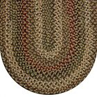Joseph's Coat Colonial Durable Soft Polypropylene Braided Rug Country Decor 775