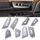 4pc ABS Chrome Interior Window Master Switch Trim Panel Cover for Honda CRV 2017