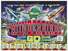 Vintage Reproduction Film & TV Poster Classic Thunderbirds A3 A4