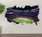 New Orleans Saints Stadium Team Wall Decal 3D Smashed Sticker Mural NFL OP254 $19.95 USD on eBay