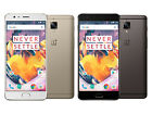 New OnePlus 3T A3000 Unlocked 64/128GB 6GB RAM DualSim 4G LTE Phone- USA Construction