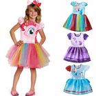 little girls winter dresses - Girls My Little Pony Princess Tutu Dress Kid Short Sleeve Party Birthday Costume
