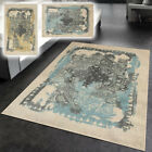 Rubber Backed Vintage Medallion Non-Slip Contemporary Area Rug Runner 2X6 5X7