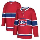 Montreal Canadiens Adidas Home Red Authentic Premier Blank Jersey $149.99 USD on eBay