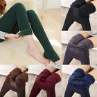 Women Winter Thick Warm Fleece Lined Thermal Stretchy Leggings Pants Hot Sale