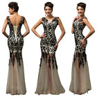 Lang Bridesmaid Wedding Party Formal Evening Gowns Pageant Masquerade Prom Dress