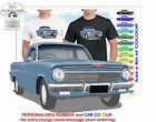 CLASSIC 62-63 EJ HOLDEN UTE ILLUSTRATED T-SHIRT MUSCLE RETRO SPORTS CAR