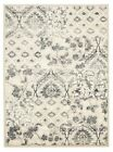 Traditional Comma Design Floral Floor Area Rugs and Runners Blue