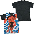 BETTY BOOP MOD RINGS Sublimation Men's Graphic Tee Shirt SM-3XL $23.66 USD