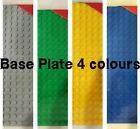 Base Plate Multicolour Building Board LEGO Compatible Baseplate 20x20 xmas