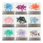 AB FLOWER HEART & STAR ACRYLIC BEADS *5 STYLES* BEADING JEWELLERY MAKING CRAFTS