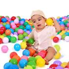 25/50/100pcs 5.5cm Soft Plastic Ocean Ball Funny Baby Kid SwimPool Slide Pit Toy