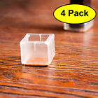 Silicone Thicked Chair Leg Cup Mat Square Furniture Table Cover Floor Protector'