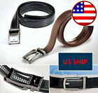 COMFORT CLICK Leather Belt Automatic Adjustable Men Gift As Seen On TV US Seller