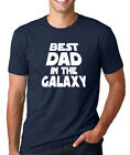 BEST DAD in the GALAXY Fathers Day Star Wars gift papa grandpa Christmas T-Shirt
