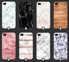 Plain Marble Phone Case Cover Wooden Normal Blank Style  5 SE 6 7 S6 S7 S8 + m4a