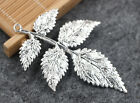 2-30pcs Exquisite fashion design of Tibetan The leaves charm pendant