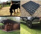 ECO Garden Shed Base GRID Mats THICK HD GRAVEL DRIVE GRIDS Eco Slab Greenhouse P