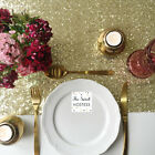 Sparkly Gold Sequin Table Runner - Ready to ship from the UK