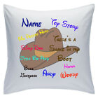 "Personalised White Cushions 18"" - Disney - Toy Story"