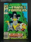 THE TRANSFORMERS #8 1985 Marvel Comics US G1 Comic Book featuring DINOBOTS