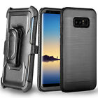 Heavy Duty Protective Case with Belt Clip for Samsung Galaxy Note 8