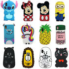 Cartoon Comic 3D Soft Rubber Silicone Protective Phone Cover Case For iPhone X