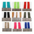 15mm, 18mm, 20mm & 22mm FOLD OVER ELASTIC *45 COLOURS* SEWING FOLDOVER TRIMMING
