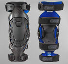 Pod MX POD K8 KNEE BRACES CARBON/BLUE S (PAIR) K8 Brace Set